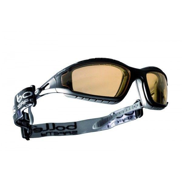 Bollé Tracker II sárga dioptriás védőszemüveg szett