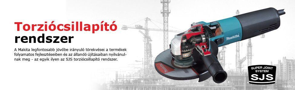 Makita GA5040C01 sarokcsiszoló (36 hónap garancia)