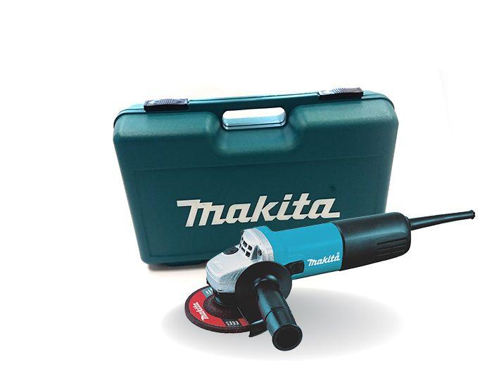 Makita 9558HNRK sarokcsiszoló + koffer (36 hónap garancia)