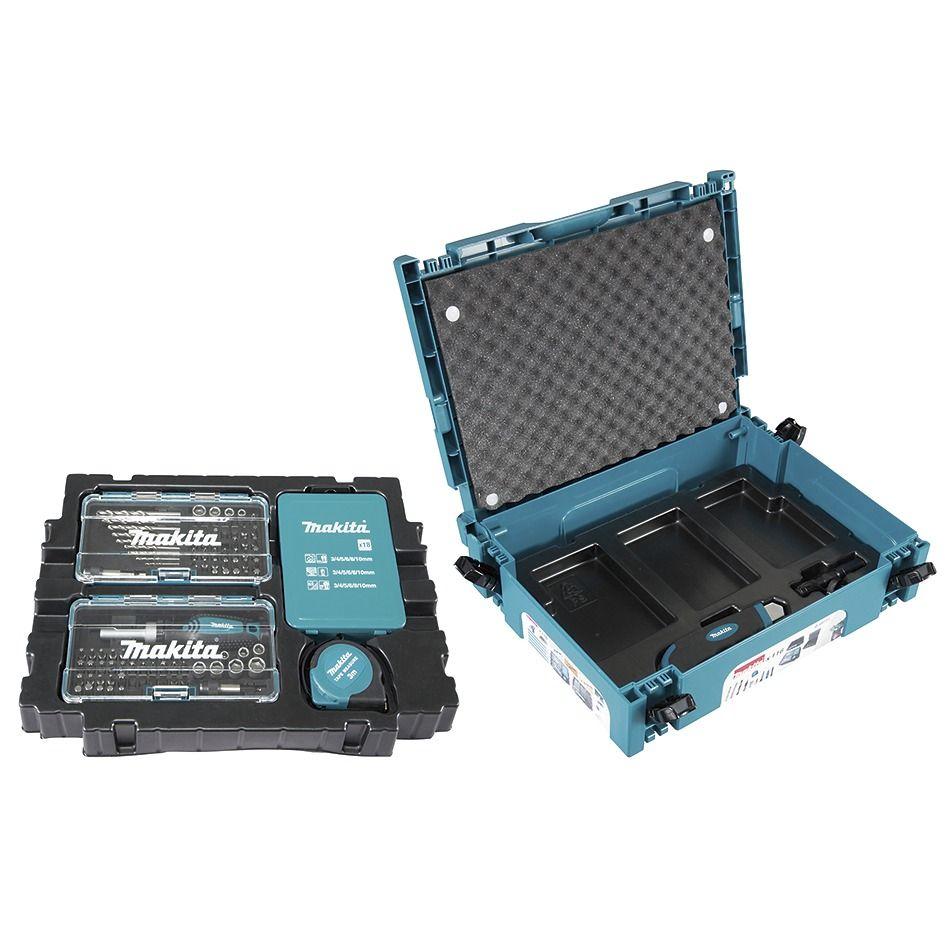 Makita 116db-os fúró-csavarbehajtó készlet MAKPAC kofferben