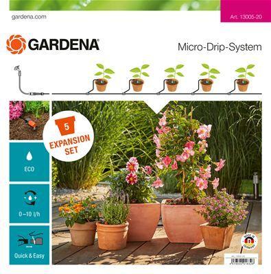 GARDENA Bővítő készlet cserepes növényekhez L