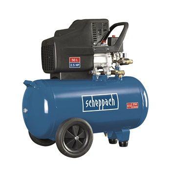 Scheppach HC51 olajkenésű kompresszor (24 hónap garancia)