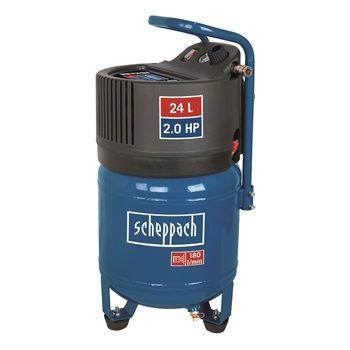 Scheppach HC24V olajmentes vertikális kompresszor (24 hónap garancia)