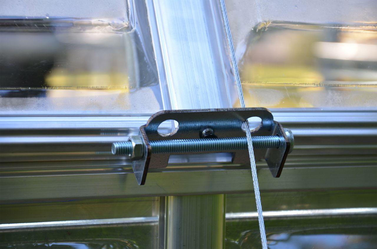 PALRAM Rögzítő rendszer üvegházakhoz
