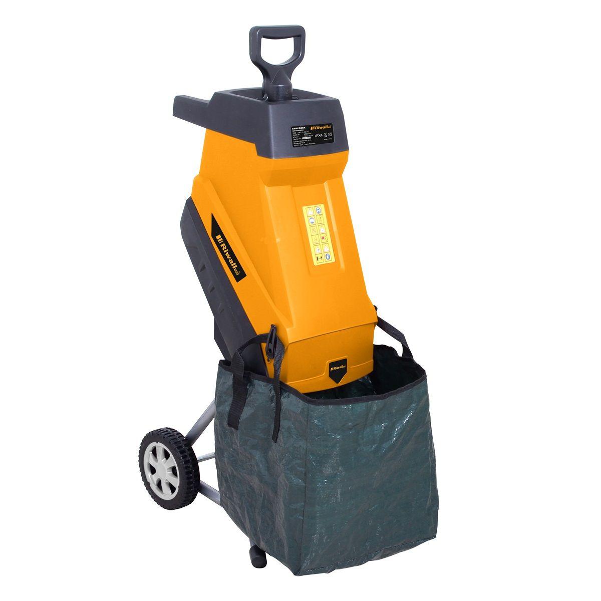 Riwall RES2545 elektromos ágaprító (24 hónap garancia)